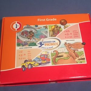 Hooked on phonics 1st grade box complete
